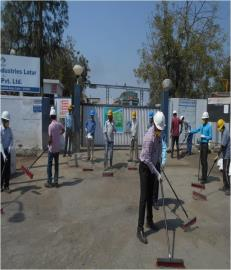Cleanliness activities being observed in Vegetable Oil Companies....... (2)