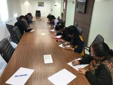 Essay writing Competition and poetry writing competition by WDRA