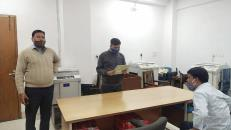 Under Swachhata Pakhwada-2021, Inspection Teams of DFPD carried out thorough inspection of all the rooms of DFPD in Krishi Bhawan on 25.02.2021 for rewarding running trophy to cleanest room upto the Officer of Director/DS level.