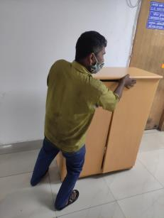 On 25.02.2021 under Swachhata Pakhwada-2021, furniture/office items lying in corridors of DFPD have been removed to make corridors neat, clean and obstruction free.
